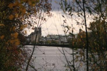 Mantes la jolie, le tour des iles en automne