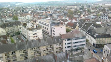 Vue de la tour St Maclou